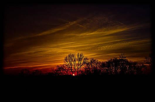 Dreamy Sunset by Shirley Tinkham