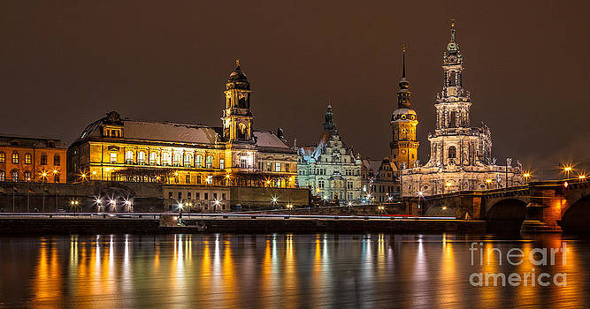 Dresden the capital of Saxony I by Bernd Laeschke