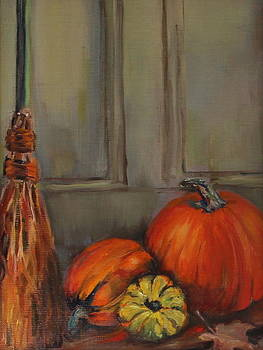 Dressed for Fall by Dorothy Siclare