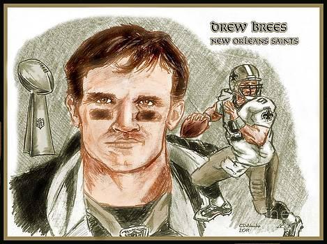 Chris  DelVecchio - Drew Brees dk