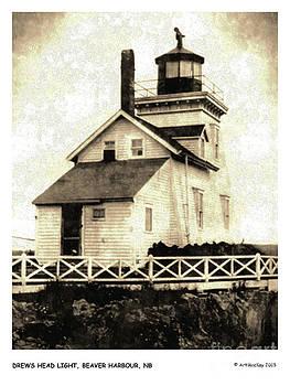 Art  MacKay - Drews Head Lighthouse Beaver Harbour NB