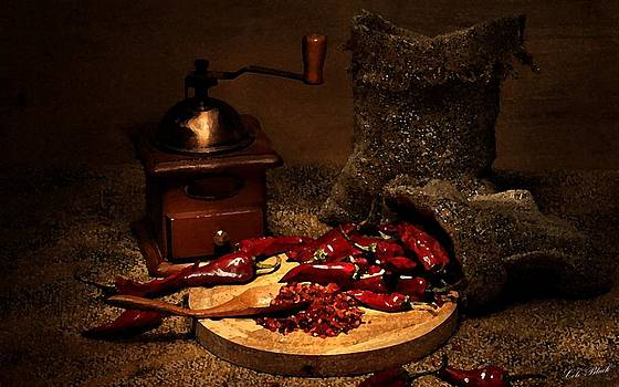 Dried Chilies by Cole Black