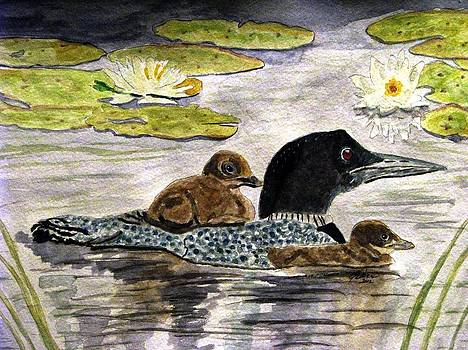 Angela Davies - Drifting Among The Waterlilies