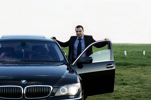 Newnow Photography By Vera Cepic - Driver with his BMW 750Li