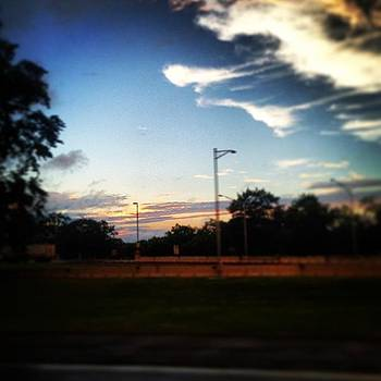 Driving Home. #sunset #sky by Sean Sullivan