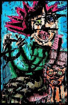 Driving Mr Kitty  by Brett Sixtysix