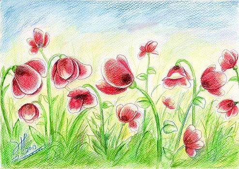 Drugged Flowers by Shirwan Ahmed