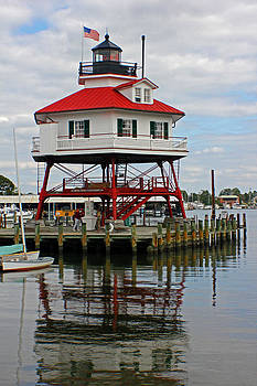 Carolyn Stagger Cokley - Drum Point Lighthouse