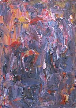 Drumbeats In A Busy Bar by Sue McElligott