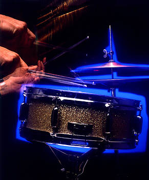 Drumming Hands by Gary De Capua