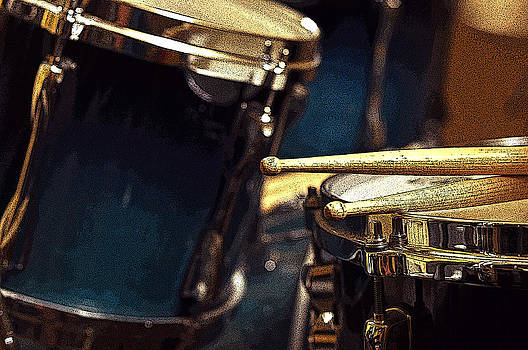 Rebecca Brittain - Drums and Sticks Posterized