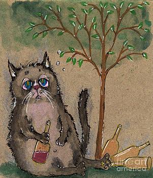Angel  Tarantella - drunken cat