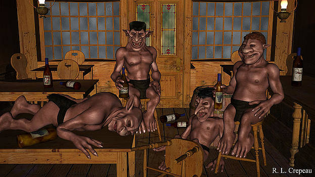 Robert Crepeau - Drunken Goblins