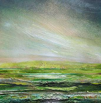 DRuridge Bay Rhythms and Textures Green and Gold by Mike   Bell