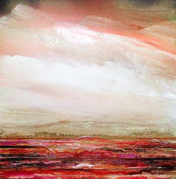 DruridgeBay Rhythms and textures RedandGold by Mike   Bell