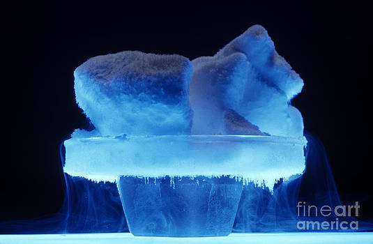 Charles D Winters - Dry Ice Sublimating