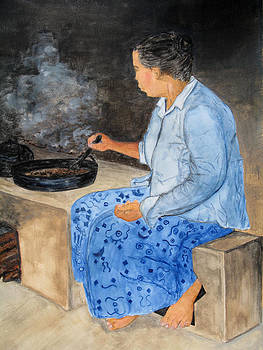 Patricia Beebe - Dryng Coffee