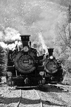 Dual Steam Engines by Marta Alfred