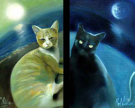 Dualistic Kitties by Neal Cormier