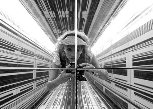 Venetia Featherstone-Witty - Duality Self Portrait in The Cube