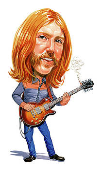 Duane Allman by Art