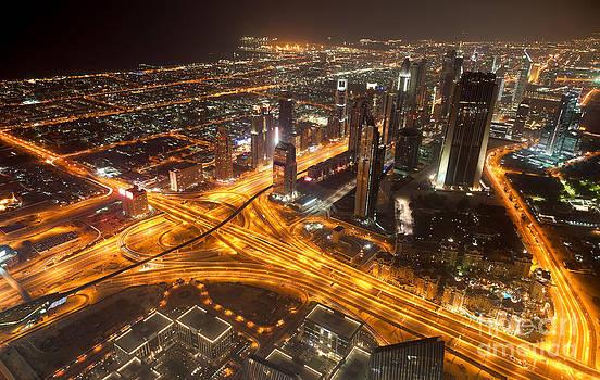 Fototrav Print - Dubai aerial city Skyline