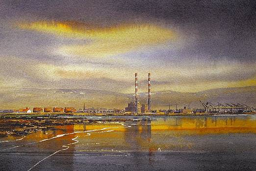 Dublin Bay Skyline by Roland Byrne