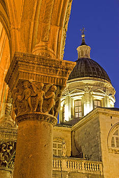 Dennis Cox - Dubrovnik at night