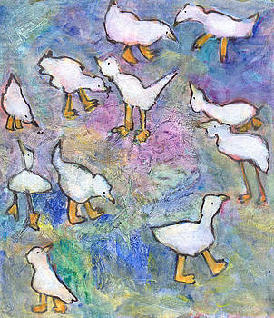 Ducks by Catherine Redmayne