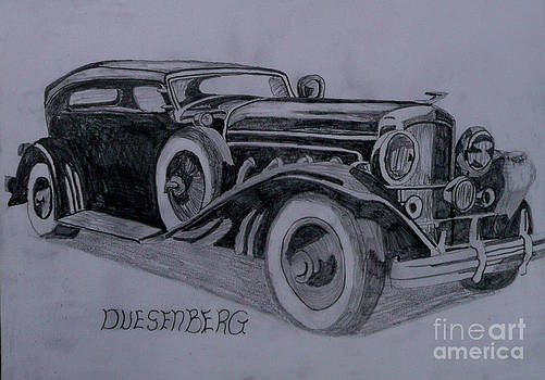 Duesenberg by Anthony Dunphy