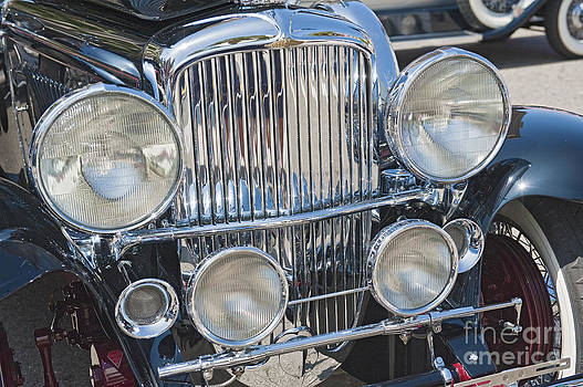 David Zanzinger - Duesenberg Front Chrome Automobile Grille 2