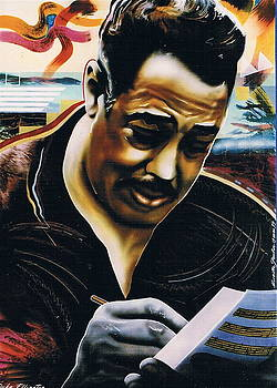 Duke Ellington by Mireille  Poulin