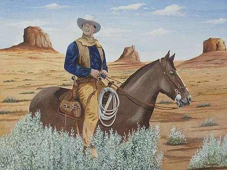 Duke in the Sagebrush by James Lawler