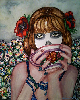 Dulce Calaveritas -progression Three by Jen Coffey
