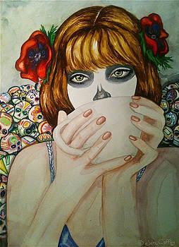 Dulce Calaveritas -progression Two by Jen Coffey