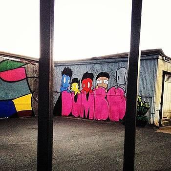 Dumbo. #brooklyn #nyc #graffiti #art by J Amadei