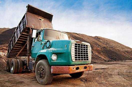 Dump Truck by Robert Hainer
