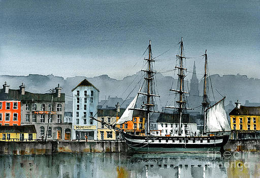 Val Byrne - WEXFORD  Dunbrody Famine Ship  in New Ross