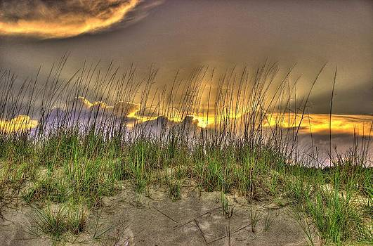 Dunes Sunset by Ed Roberts