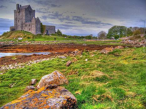Dunguaire Castle by David Valentyne