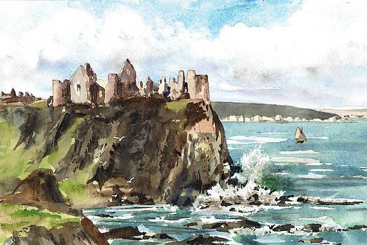 Val Byrne - Dunluce Castle Antrim N I