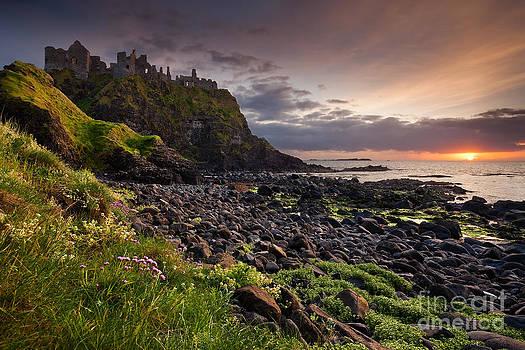 Dunluce Sunset by Derek Smyth