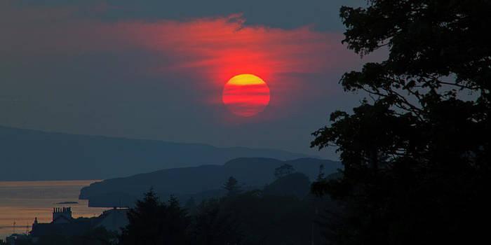 David Pringle - Dunvegan Sunset