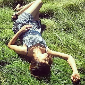 During The Walk. There Was Grass That by Zarah Delrosario