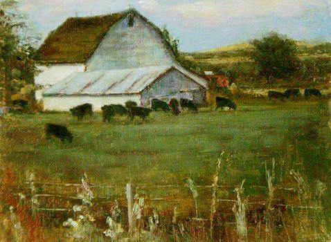 Dusk - a Walden Farm by Chisho Maas