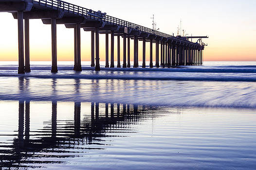 Priya Ghose - Dusk At Scripps Pier