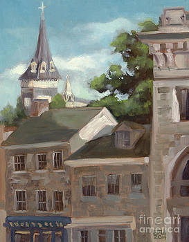 Dusk in Ellicott City by Edward Williams