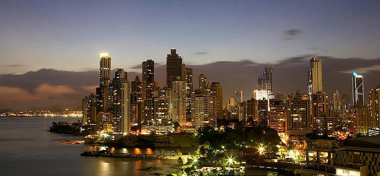 Dusk in Panama by Ivan SABO