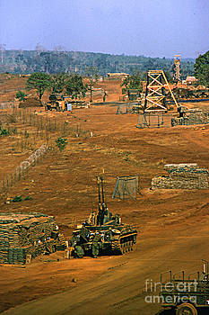 California Views Archives Mr Pat Hathaway Archives - M 42 Duster of 4/60th Artillery at  LZ Oasis Vietnam 1969