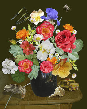 Dutch Flowers by Marcia Cary